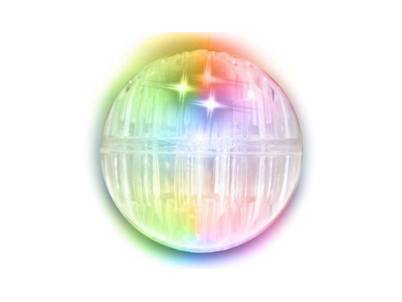 Stuiterbal Met Licht : Verlichte stuiterbal met led met boing geluid rainbow