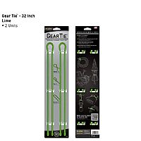Nite Ize Gear Tie 32 2pack Lime